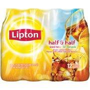 Lipton Half Iced Tea & Half Lemonade, 16.9 fl oz, 12 count(Case of 2)
