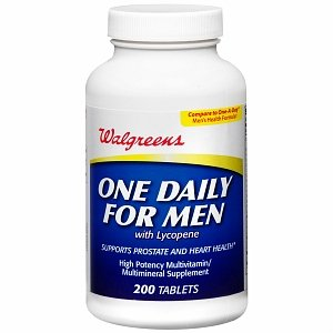 Walgreens One Daily For Men Multivitamin Tablets 200 ea