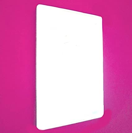 Rounded Corner Rectangle Mirror - 10cm x 8cm Super Cool Creations