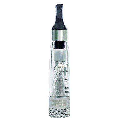 DIPSE CE4 V3 Wechselkopf Verdamfer/Clearomizer für jede ego-T eshisha / 510 e Zigarette – perfekt für Viel-Dampfer durch…