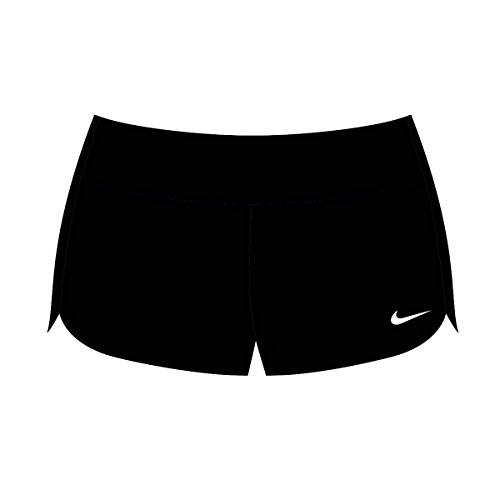 Nike Women's Core Solids Boardshort XL Black