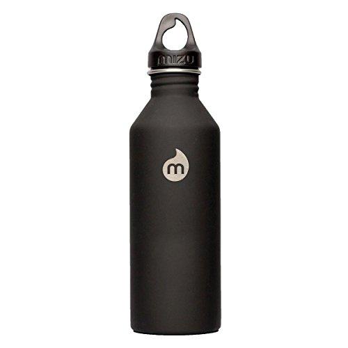 mizu ミズ 水筒 M8 800ml シングルウォールステンレスウォーターボトル 0813551020140 ST Black  つや消しブラック  800mlの商品画像