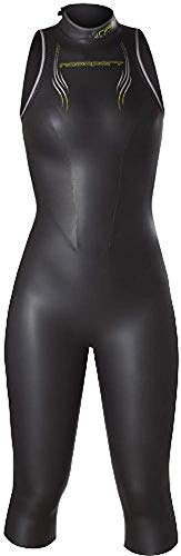 NeoSport Women's Jane Sleeveless Triathlon Wetsuit - 5/3mm Lightweight Tri Suit for Flexibility, Comfort and Buoyancy - Anatomical Fit for Range of Motion and Faster Transitions - Premium Quality Neop