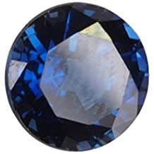 Blue Lab Sapphire Unset Loose Round Gem