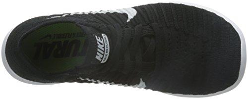 Nike Mens Free Rn Flyknit Scarpa Da Corsa (9 Nero / Bianco)