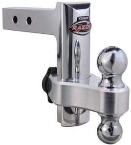 Trimax Trimax Locks TRZ6AL Adjustable Aluminum Hitchwith Lock