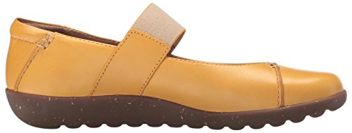 Yellow Clarks Elie Flats Medora Leather Mary Jane Women's UxA6YnqOR
