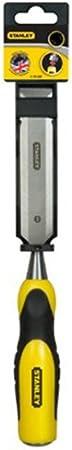 0-16-871 Stanley Dynagrip Stechbeitel 8 mm Eisenl/änge, Karbonstahl, Chrom-Stahl-Legierung, Schlagkappe aus Stahl