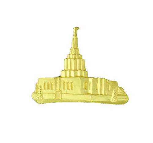 LDS Temple Lapel Pin (Idaho Falls)