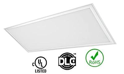 4 Pack of Led Panel Light 2x4 (1213x603x10mm) 72W 5000K