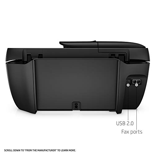 HP OfficeJet 3830 All-in-One Wireless Printer with Mobile Printing, HP Instant Ink & Amazon Dash Replenishment Ready (K7V40A) (Renewed) by HP (Image #4)