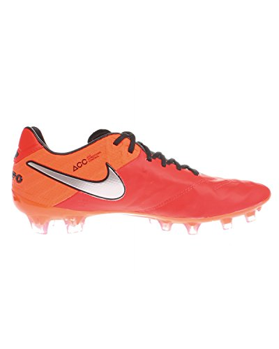 Crmsn da Plateado Calcio Naranja Uomo Mtllc Legend VI Slvr FG Nike Tiempo Crmsn ttl Lt Scarpe Rojo wzX17qwSx