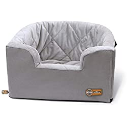 K&H PET PRODUCTS Hanging Bucket Booster Bed, Gray