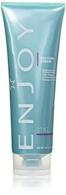 ENJOY Texture Cream (8.8 OZ) Sculpting and Molding Hair Cream for Soft, Textured Hair