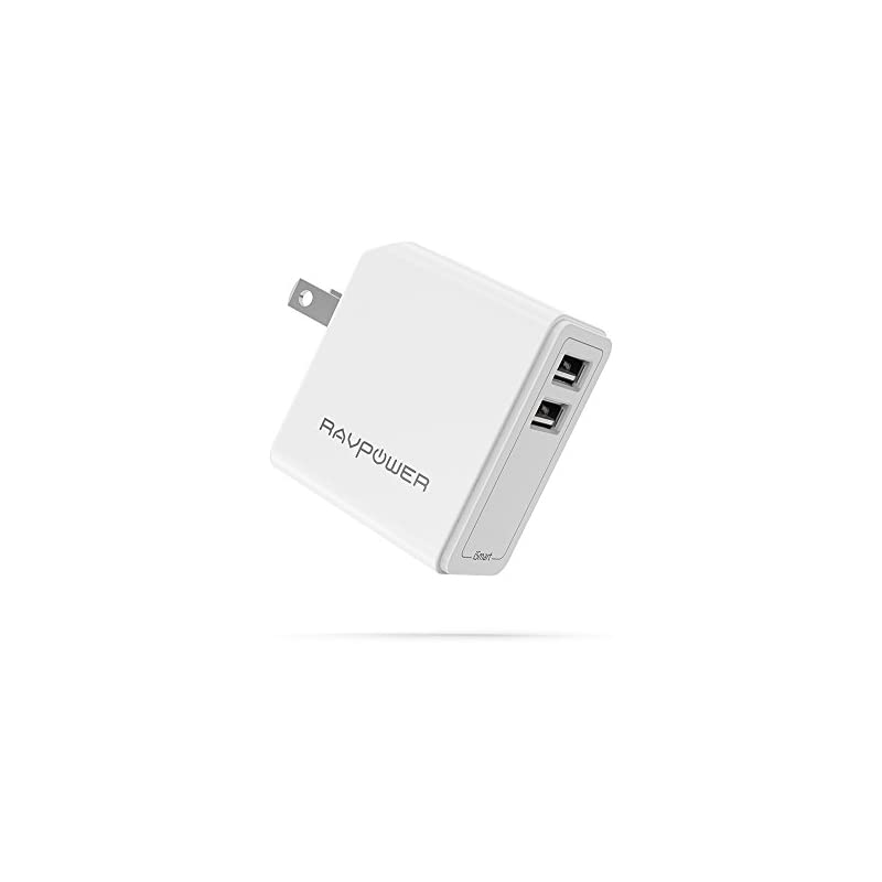 USB Wall Charger RAVPower 24W 4.8A USB P