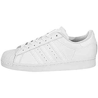 adidas Originals Mens Superstar White/White/White 4