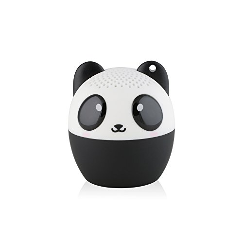 My Audio Pet (Gen 1) Mini Bluetooth Animal Wireless Speaker with Powerful Rich Room-filling Sound - 3W audio driver - Remote Selfie Function - for iPhone/iPad/iPod/Samsung/HTC/Tablets - PANDAmonium