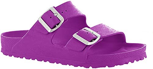 Birkenstock Unisex Arizona EVA Sandal, Pink, 6-6.5 Narrow Women/4-4.5 Narrow Men, 37 N EU