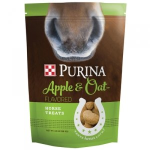 Purina Apple and Oat Flavored Horse Treats, 15 Pound - Horse Treats Oats