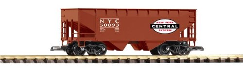 PIKO G SCALE MODEL TRAINS - NYC OFFSET HOPPER 851201 - 38820 -