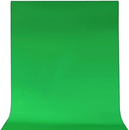Adealink Green Screen Muslin Backdrop Photography Background for Studio Lighting Kit