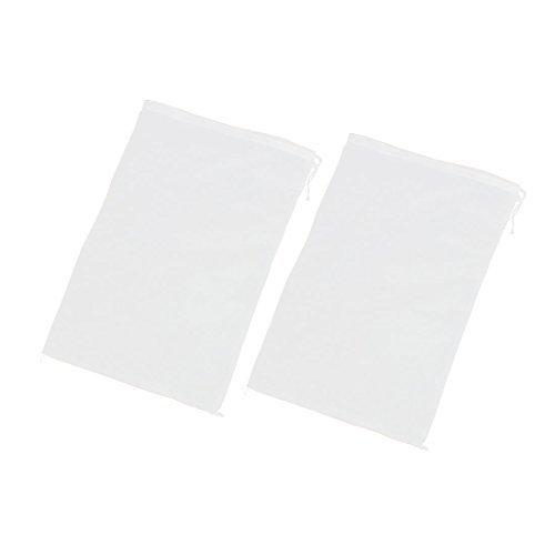 soja brote colador jugo bolsa de filtro de Alimentos 29x42cm 2pcs ()