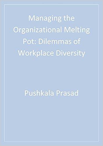 Read online Managing the Organizational Melting Pot: Dilemmas of Workplace Diversity PDF, azw (Kindle), ePub, doc, mobi