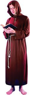 Friar Tuck Kids Costume (Brown Men's Monk Friar Tuck Costume)