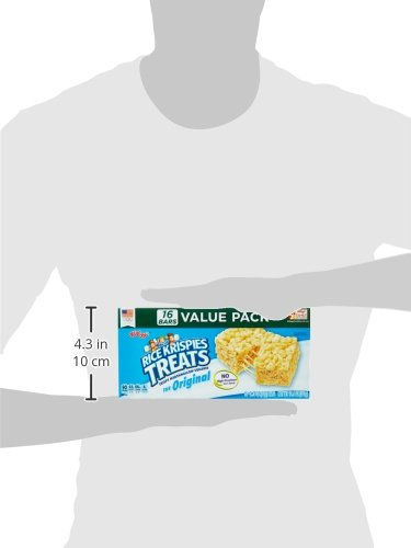 Large Product Image of Kellogg's Rice Krispies Treats, Crispy Marshmallow Squares, Original, Value Pack, 0.78 oz Bars (16 Count)
