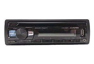 Alpine CDE-172BT Bluetooth Receiver (replacement of CDE-143BT) (Color: Black, Tamaño: Single DIN)