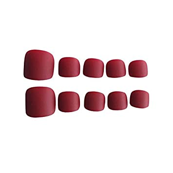 24 piezas de uñas postizas falsas Diseños de tapa completa ...