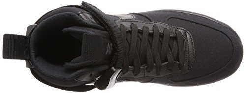 Mens Air 1 Sneakers Black AH6768 Canvas Black Fashion anthracite '07 NIKE High Force YdpEqp
