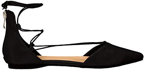 Call It Spring Womens Cinnabar Ballet Flat Black Synthetic ZkKRkDh