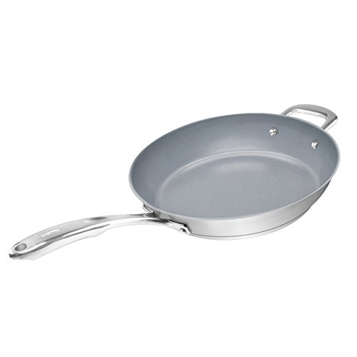 "Chantal® Induction 21 Cookware 11"" Fry Pan with Ceramic"