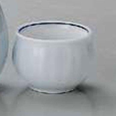SEIHAKUZI-KIKUWARI Jiki Japanese Porcelain Set of 5 Sake Cups