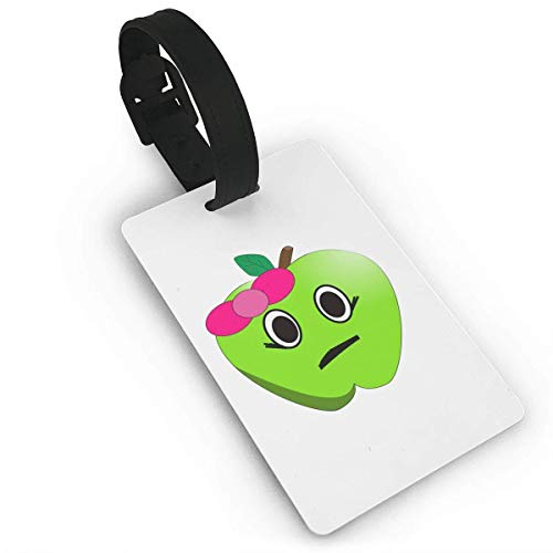 Bow Green Apple Luggage Tag Travel Accessories Business Card Holder Quickly Spot Luggage Suitcase For Boy,Girl,Man,Woman