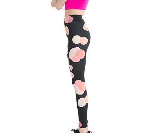 YICHUN - Leggings - para mujer 3#