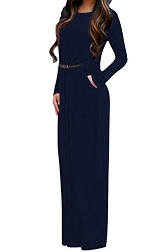 Buy belted dress with pockets - 9