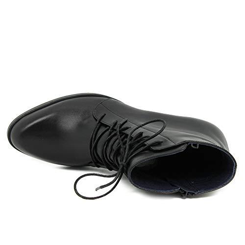 Femme Zuma Noir 001 Classiques Dorking Negro Bottes qTHaOg