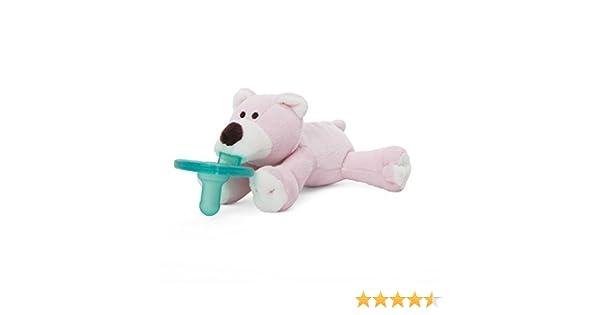 WUBBANUB Chupete Soothie (Pink Bear)
