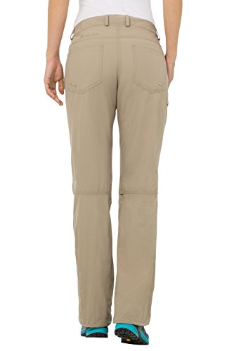VAUDE Farley IV - Pantalones para mujer verde grisáceo (beige)