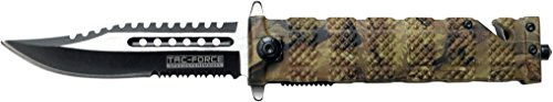 Tac Force TF-710 Series Liner Lock Assisted Opening Folding Knife 5-Inch Closed image