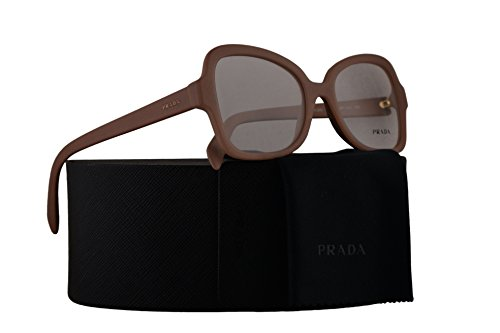 Prada PR25SV Eyeglasses 51-18-135 Matte Pink w/Demo Clear Lens UFF1O1 VPR25S VPR 25S PR - Butterfly Prada