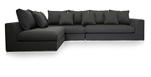 rsible Sectional Sofa Gray 120