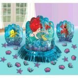 Disney Ariel The Little Mermaid Dream Big Table Decorating Kit 23 pieces Party Supplies