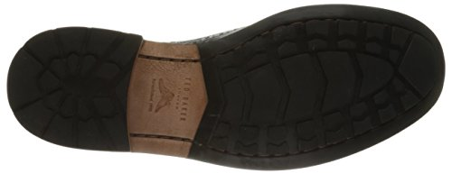 Ted Baker Mens Guri 8 Oxford In Pelle Nera