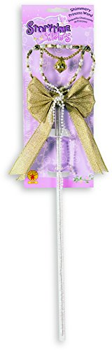 [Rubie's Costume Novelty Shimmering Gold Wand] (Beauty Pageant Queen Costume)