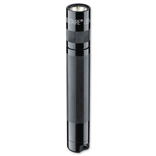 - MagLite Mag Instruments Solitaire LED AAA Flashlight Presentation Box, Black