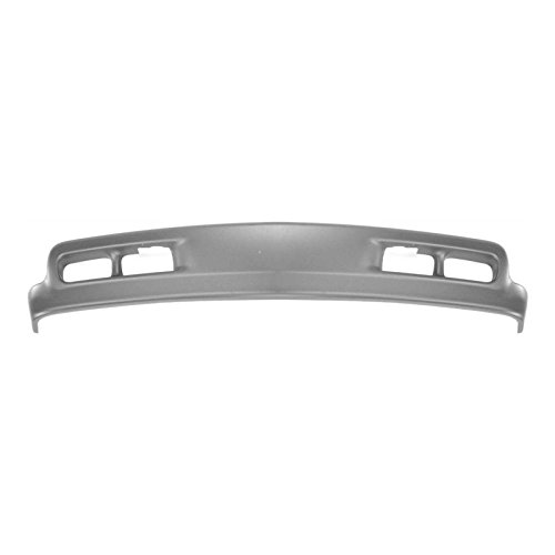 MBI AUTO - Gray, Front Bumper Lower Air Deflector Valance for 1999 2000 2001 2002 Chevy Silverado 1500 2500 Pickup, (Bumper Lower Valance)
