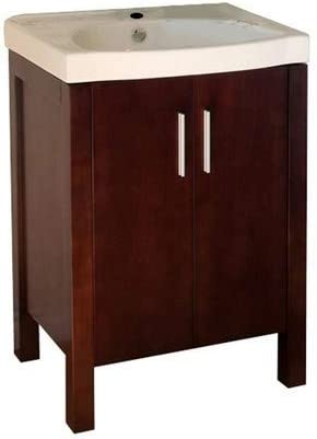 Bellaterra Home 804381 23.8-Inch Single Sink Vanity